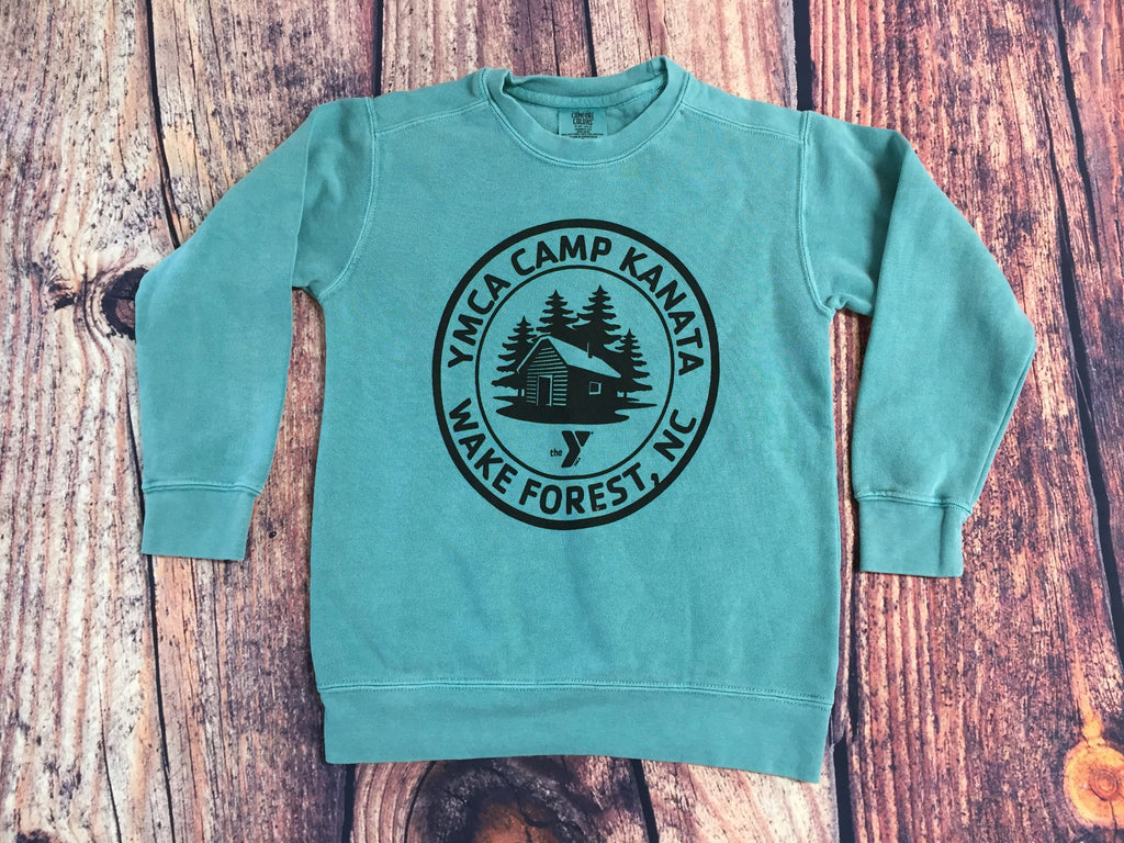 Camp Kanata Crew Sweatshirt-Youth
