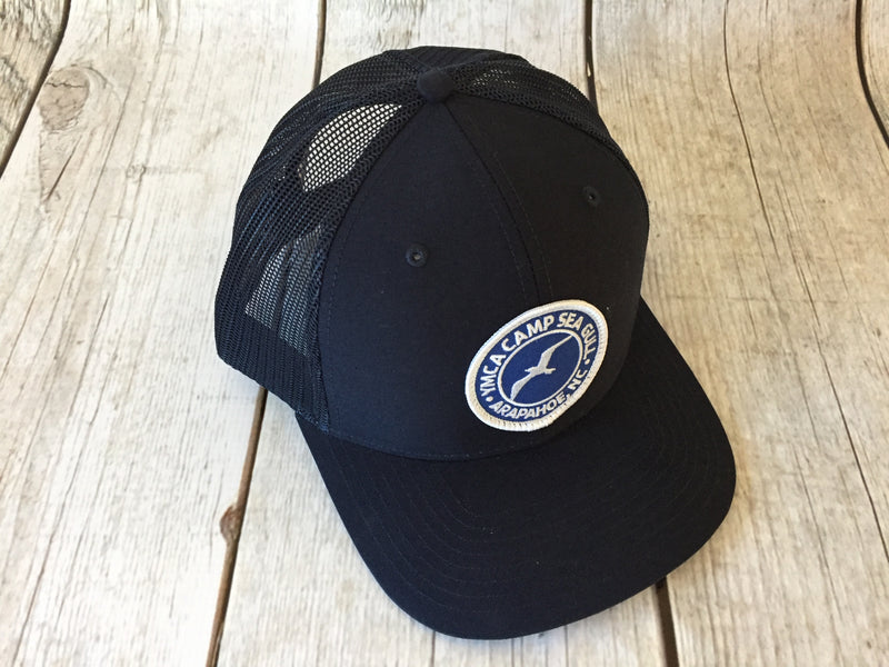 Camp Sea Gull Trucker Hat with Patch