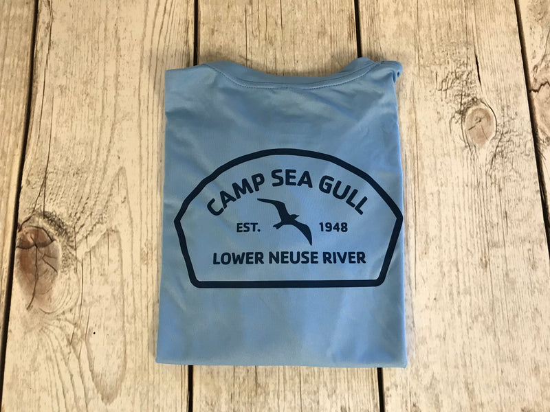 Camp Sea Gull Long Sleeve Sunshirt-Youth