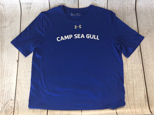 Camp Sea Gull Under Armour Shirt-Youth-Royal