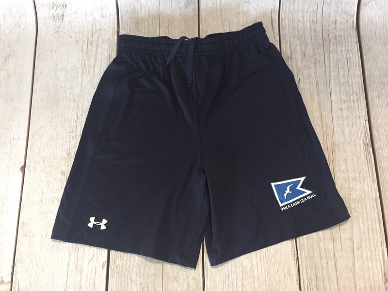 Camp Sea Gull Under Armour Raid Shorts-Youth-Navy