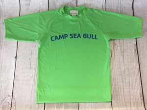 Camp Sea Gull Rash Guard-Youth