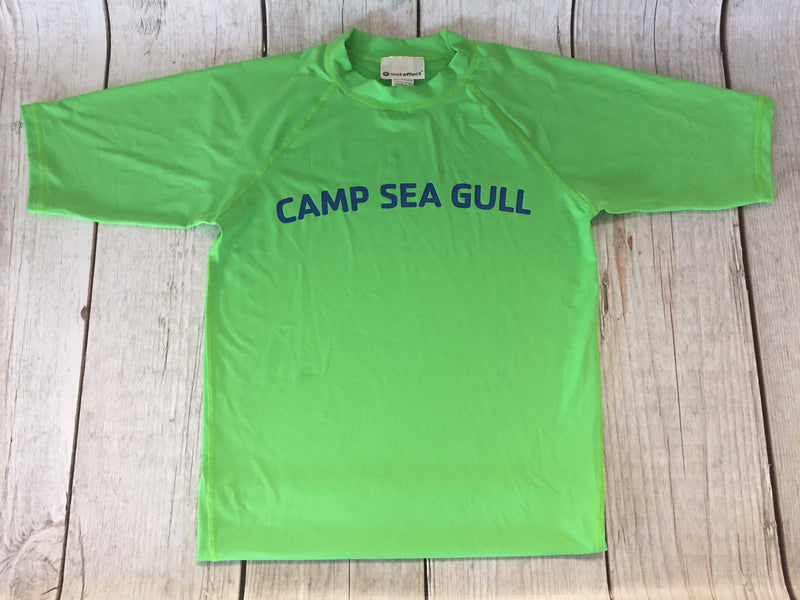 Camp Sea Gull Rash Guard-Adult