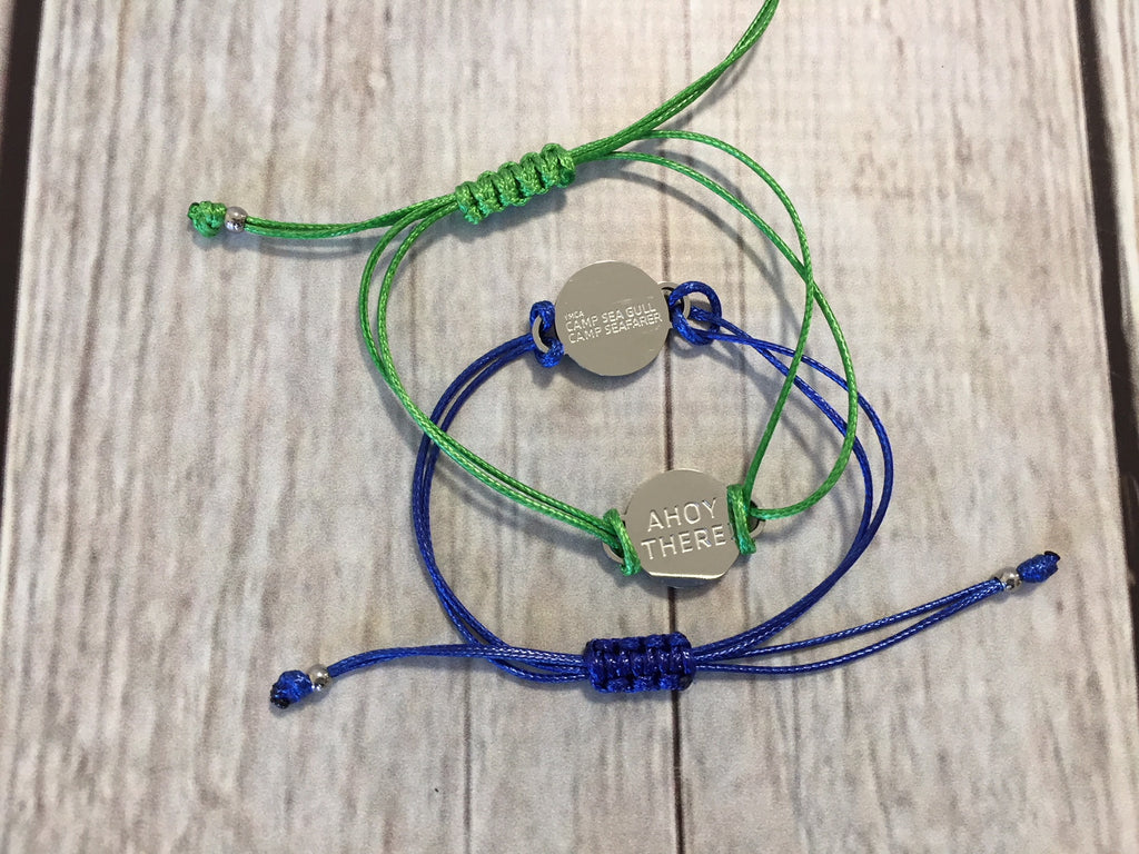 Camp Sea Gull/Camp Seafarer String Bracelet