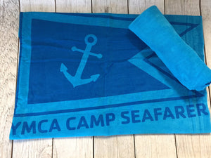 Camp Seafarer Beach Towel