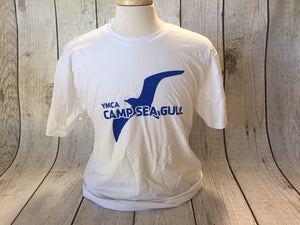 Camp Sea Gull Camper T-Shirt-Youth