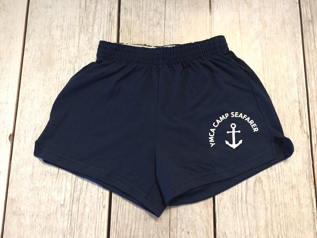 Camp Seafarer Shorts-Junior Sizes-Navy