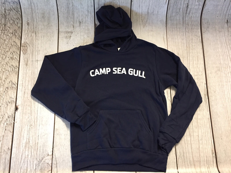 Camp Sea Gull Hooded Sweatshirt-Navy-Youth