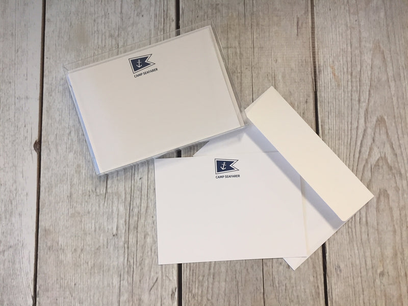Camp Seafarer Stationery