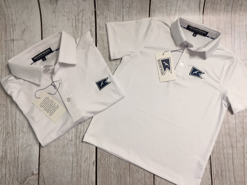 Camp Sea Gull Polo Shirt-Youth