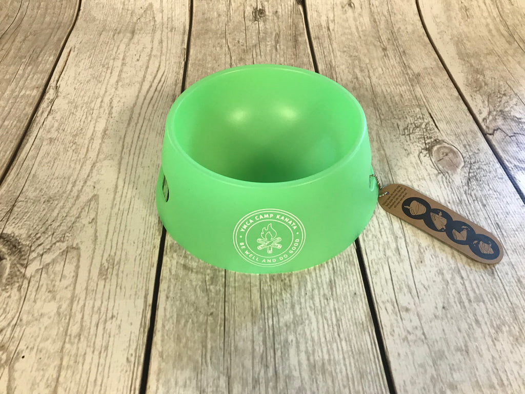 Camp Kanata Silipint Dog Bowl-NEW!