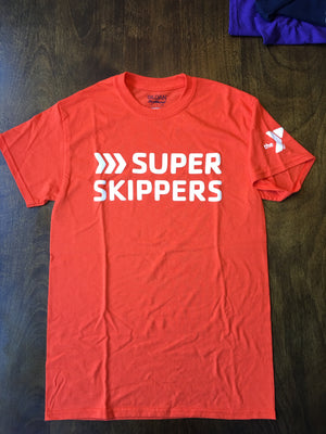 Super Skippers Achievement Level T-Shirt-Orange