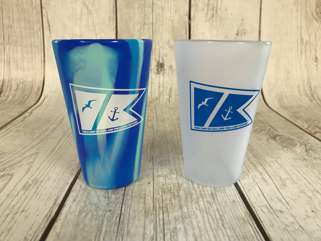 Silipint Tumbler-16 oz Dual Camp Logo