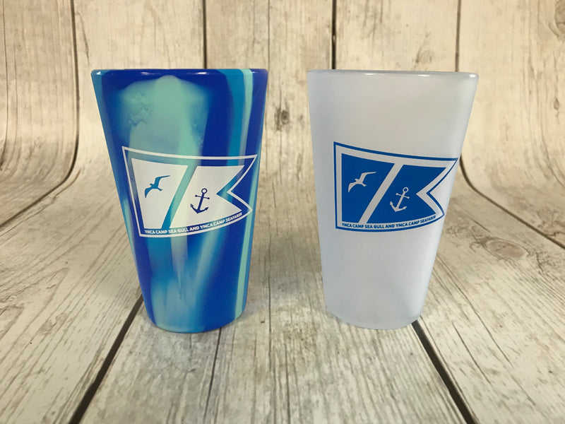Dual Camp Logo Silipint Tumbler-16 oz