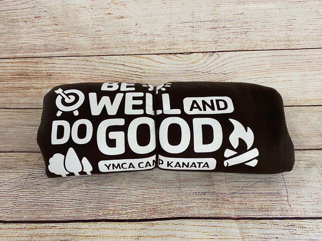 Camp Sea Gull Sweatshirt Blanket