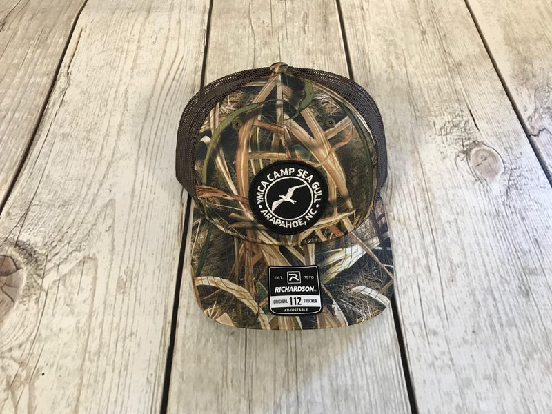 Camp Sea Gull Trucker Hat-Mossy Oak