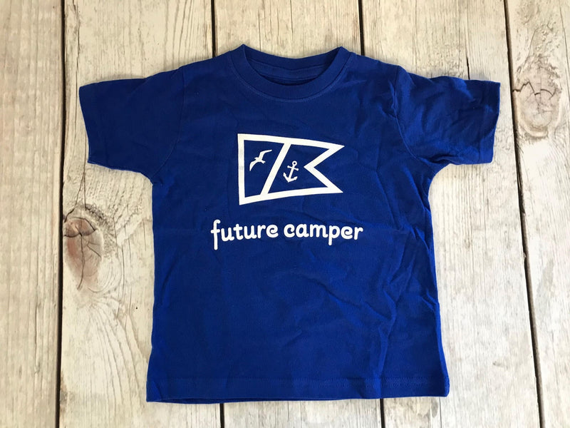 Future Camper T-Shirt-Dual Camp Logo