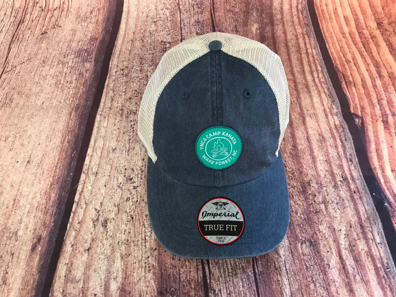Camp Kanata Trucker Hat-Blue NEW!