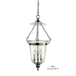Brass Lantern and Pendant - 1501Pendant - Graham's Lighting Memphis, TN