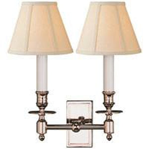 22G-S2212-PN-L - Studio VC French Double Library Sconce In Polished NickelSconces - Graham's Lighting Memphis, TN