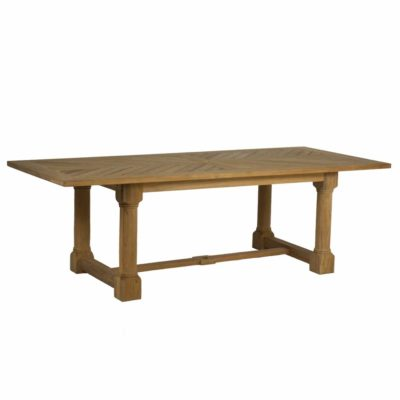 LAKESHORE DINING TABLE- Oyster Teak