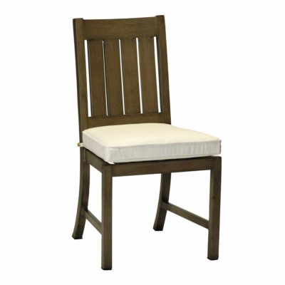 CROQUET ALUMINUM SIDE CHAIR- SC283115Chair - Graham's Lighting Memphis, TN