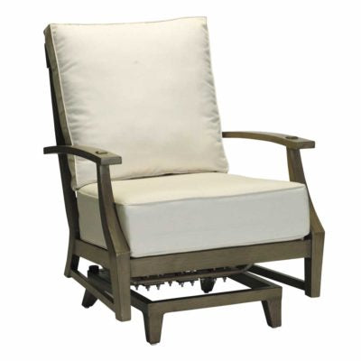 CROQUET ALUMINUM SPRING LOUNGE- SC333820Chair - Graham's Lighting Memphis, TN