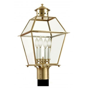 Outdoor Lighting - 3410Pier/Post Lantern - Graham's Lighting Memphis, TN