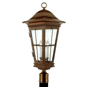 Outdoor Lighting - 3540Pier/Post Lantern - Graham's Lighting Memphis, TN