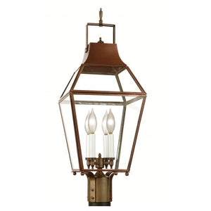 Outdoor Lighting - 3810-3820-3830Pier/Post Lantern - Graham's Lighting Memphis, TN