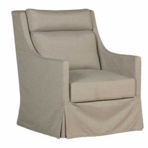 HELENA UPHOLSTERED SWIVEL GLIDE CHAIR- SC409850