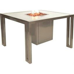 Icon Square Fire Pit Dining TableFire Pits - Graham's Lighting Memphis, TN