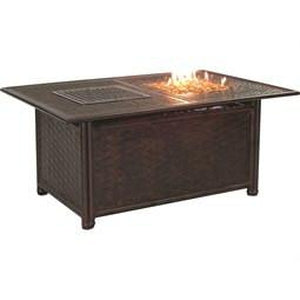 Resort Rectangular Fire and Ice Coffee TableFire Pits - Graham's Lighting Memphis, TN