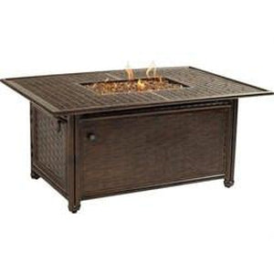 Resort Rectangular Fire Pit Coffee TableFire Pits - Graham's Lighting Memphis, TN