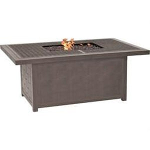 Classical Rectangular Fire Pit Coffee TableFire Pits - Graham's Lighting Memphis, TN