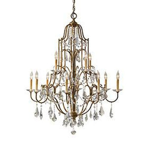 6L-F2479/8+4OBZChandelier - Graham's Lighting Memphis, TN