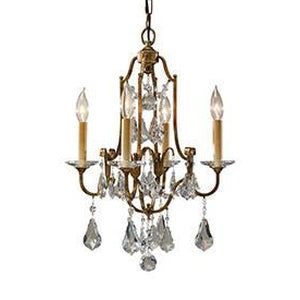 6L-F2480/4OBZChandelier - Graham's Lighting Memphis, TN