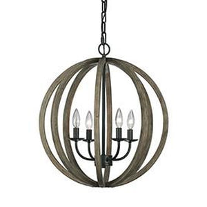 6L-F2935/4WOW/AFChandelier - Graham's Lighting Memphis, TN