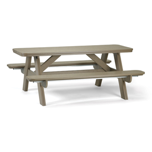 6' Outdoor Picnic Table Breezesta