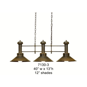 Brass Lantern and Pendant - 7130-3Pendant - Graham's Lighting Memphis, TN