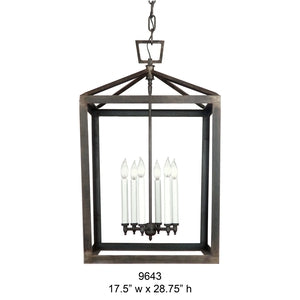 Other Metal Lantern and Pendant - 9643Pendant - Graham's Lighting Memphis, TN