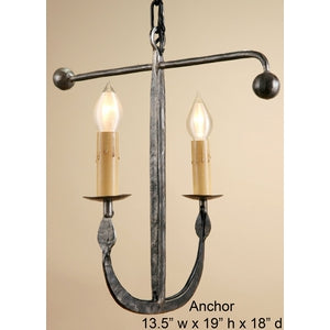 Other Metal Sconce - ANCHORSconce - Graham's Lighting Memphis, TN
