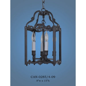 Brass Lantern and Pendant - CAN-0285/4-09Pendant - Graham's Lighting Memphis, TN