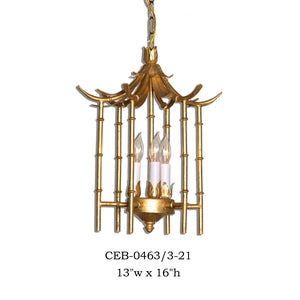 Other Metal Chandelier - CEB-0463/3-21Chandelier - Graham's Lighting Memphis, TN