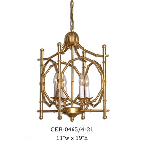 Other Metal Lantern and Pendant - CEB-0465/4-21Pendant - Graham's Lighting Memphis, TN
