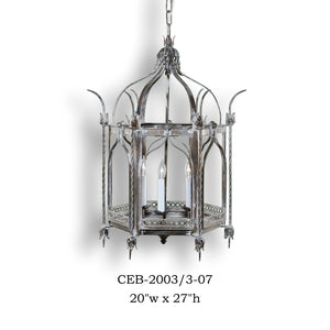 Other Metal Lantern and Pendant - CEB-2003/3-07Pendant - Graham's Lighting Memphis, TN