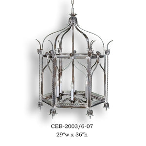 Other Metal Lantern and Pendant - CEB-2003/6-07Pendant - Graham's Lighting Memphis, TN