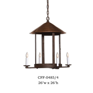Other Metal Chandelier - CFF-0485/4Chandelier - Graham's Lighting Memphis, TN