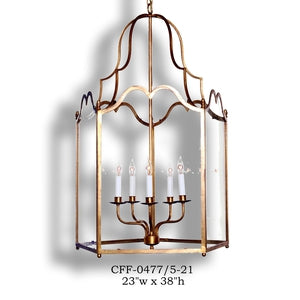 Other Metal Lantern and Pendant - CFF-0477/5-21Pendant - Graham's Lighting Memphis, TN