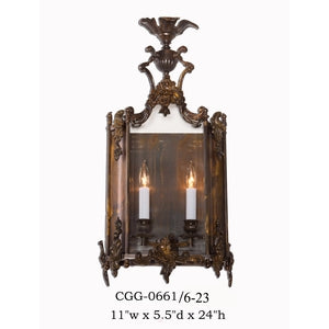 Other Metal Sconce - CGG-0661/6-23Sconce - Graham's Lighting Memphis, TN